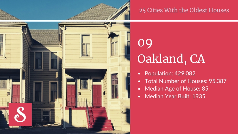 Oakland oldest cities
